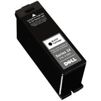 Cartucho negro de un solo uso de alto rendimiento (serie24) para la impresora todo en uno DellP713w