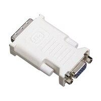 Adaptador VGA Dell para conectar 2 monitores CRT a la tarjeta de video capaz de doble monitor