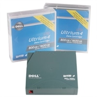 Dell - LTO Ultrium WORM 4 - 800 GB / 1.6 TB - para PowerVault 114T