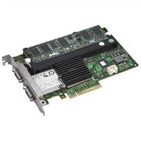 Dell PERC 6/E SAS - Controlador de almacenamiento (RAID) - SAS - 300 MBps - RAID 0, 1, 5, 6, 10, 50, 60 - PCIe