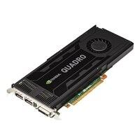 Tarjeta gráfica Dell NVIDIA Quadro K1200 de 4 GB y de bajo perfil
