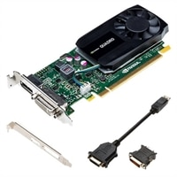 Tarjeta gráfica profesional Dell PNY Nvidia QUADRO K2200 de 2 GB