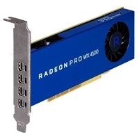 Gráficos para estaciones de trabajo Dell Radeon™ Pro WX 4100, 4GB, 4 DP, Altura completa (KIT)