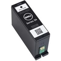 Cartucho de tinta negra de un solo uso de capacidad estándar (serie 34) para la impresora todo en uno Dell V525w/V725w