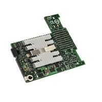 Tarjeta intermedia Intel Ethernet X520 de dos puertos KX4 y 10 Gigabit de Dell