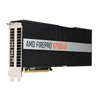 Tarjeta gráfica de GPU para servidor Dell AMD FirePro S7150x2 de 16 GB