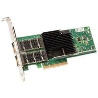 Adaptador de red convergente de bajo perfil Intel XL710 de doble puerto y 40 GbE QSFP+ de Dell