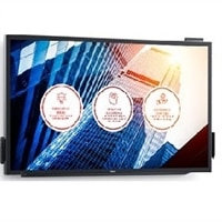 Monitor táctil UltraHD 4K interactivo Dell 55 : C5518QT
