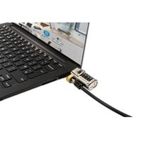 Candado de combinación Clicksafe para todas las ranuras de seguridad Dell
