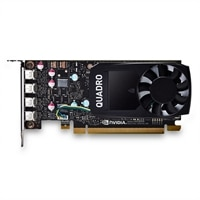 NVIDIA Quadro P600 2GB 4 mDP, altura completa (Precision) (kit del cliente)