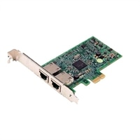 Dell Broadcom 5720 Dual puertos 1 Gigabit Tarjeta de interfaz de red - bajo perfil, Cuskit