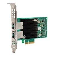 Dell Dual puertos Intel X550, 10G Base-T Adaptador bajo perfil