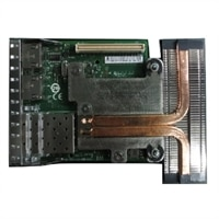 Intel X520 Dual puertos 10 Gigabit conexión directa/SFP+, + I350 Dual puertos 1 Gigabit Ethernet, Tarjeta secundaria de red kit del cliente - DSS Restricted