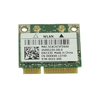 Dell inalámbrica 1540 (802.11 a/b/g/n) PCIe-tarjeta (Half Height)