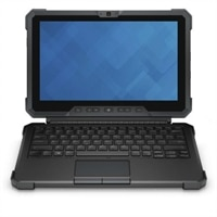 Tapa de teclado Dell con soporte plegable para la tableta Latitude 12 Rugged - US Intl