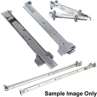 PE M1000e Rapid rail para Dell other 4 post square hole estante (Kit)