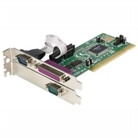 StarTech.com 2S1P PCI Serial Parallel Combo Card with 16550 UART - Adaptador paralelo / serial - PCI - paralelo, serial - 3 puertos