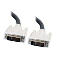 C2G - Cable DVI - enlace doble - DVI-D (M) - DVI-D (M) - 1 m