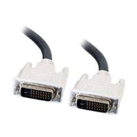 C2G - Cable DVI - enlace doble - DVI-D (M) - DVI-D (M) - 2 m