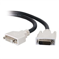 C2G - Cable alargador DVI - enlace doble - DVI-D (M) - DVI-D (H) - 3 m (9.84 ft)