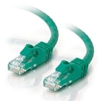 C2G Cat6 550MHz Snagless Patch Cable - Cable de interconexión - RJ-45 (M) - RJ-45 (M) - 30 m (98.42 ft) - CAT 6 - moldeado, trenzado, sin enganche, forrado - verde