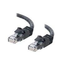 C2G Cat6 550MHz Snagless Patch Cable - Cable de interconexión - RJ-45 (M) - RJ-45 (M) - 7 m (23 ft) - CAT 6 - moldeado, trenzado, sin enganche, forrado - negro