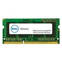 Ampliación de memoria Dell - 4GB - 1RX8 DDR3L SODIMM 1600MHz