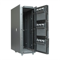 APC NetShelter CX - Rack - roble claro - 38U - 19-pulgadas