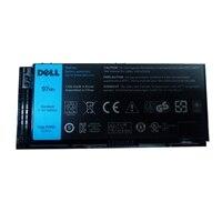Batería principal de iones de litio de 97 WHr, 9 celdas de Dell