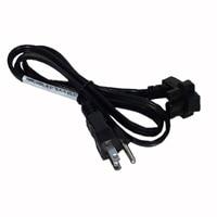 Dell Cable de alimentación plano de 3 hilos, 3 pies para las laptops Dell Studio 14z/ 15/ 1536/ 1537/ 1555
