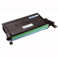 Dell 2145cn 5000 Page Cyan    Toner Cartridge
