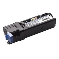 Cartucho de tóner negro de 1.200 páginas para  impresoras láser color Dell 2150cn / 2150cdn / 2155cn / 2155cdn