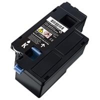 Cartucho de tóner negro para la impresión de hasta 1250 páginas para la impresora láser color C1660w de Dell