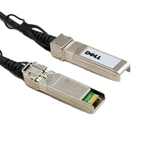 Dell Networking Cable SFP+ a SFP+ 10GbE Pasivo cobre Twinax conexión directa cable, 2 m - Customer Kit