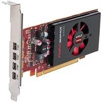Tarjeta de gráficos profesionales Dell AMD FirePro W4100 de 2 GB