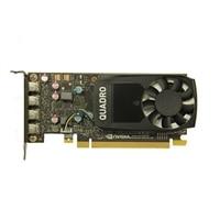 NVIDIA® Quadro® P1000, 4GB, 4 DP, HH, (Precision SFF) (KIT para el cliente)