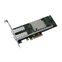 Tarjeta de interfaz de red Ethernet PCIe del adaptador de servidor Dell de dos puertos de 10 Gigabit