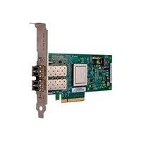 Canal de Dell QLogic QME2662 16GB Fibre Channel I/O Tarjeta intermedia blades16Gbps fibra QLogic de Dell - I/O Mezzanine Card para M-Series Blades