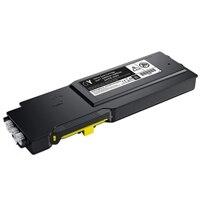 Cartucho de tóner amarillo de alto rendimiento Dell serie S384X, rinde 9000 páginas