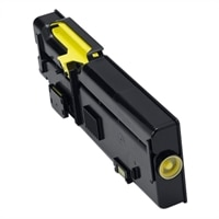 Dell 1,200-Page Yellow Toner Cartridge for Dell C2660dn/C2665dnf Color Printers, Customer Install