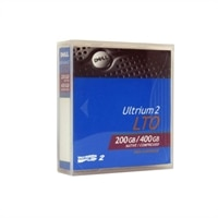200 GB / 400 GB LTO Ultrium  2 Data Cartridge for Dell PowerEdge 830 / PowerVault 110T LTO-2-L  Systems - 1-Pack