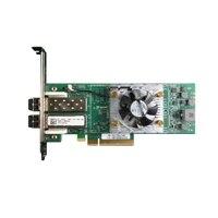 Adaptador de bus de host de canal de fibra Dual puertos 16GB Qlogic 2662 de Dell, altura completa, CusKit