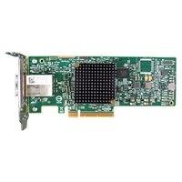 Adaptador de bus de host de canal de 9300-8e fibra LSI 12GB SAS de Dell, Dual puertos, Kit del cliente