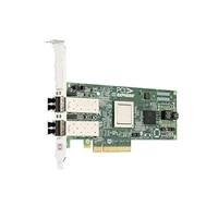 Dell de Emulex LPE12002 Dual Channel 8Gb PCIe Adaptador de bus de host, bajo perfil