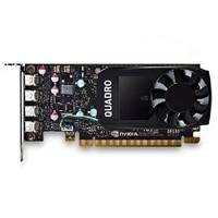 NVIDIA Quadro P600, 2GB, 4 mDP, altura media, (Precision SFF)(kit del cliente)