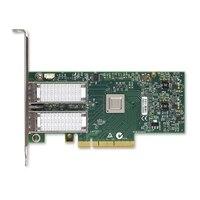 Adaptador de redes de bajo perfil Dell Mellanox de dos puertos de 40 GbE QSFP