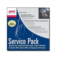 APC Extended Warranty Service Pack - support technique - 1 année