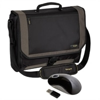 Targus Canada Targus sac à bandoulière de 17 pouces contient CityGear souris, souris optique sans fil