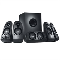 Haut-parleurs ambiophoniques Z506 5.1 de Logitech