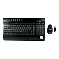 Seal Shield Silver Surf S103M7W Clavier sans fil multimédia et sans fil Peigne Optical Mouse